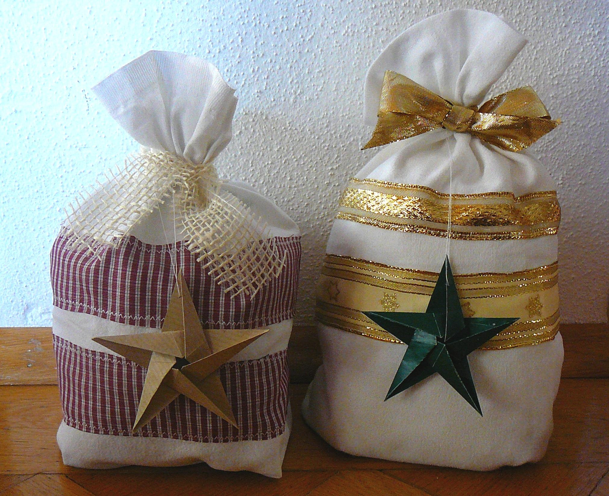 geschenke verpacken mit cellophan