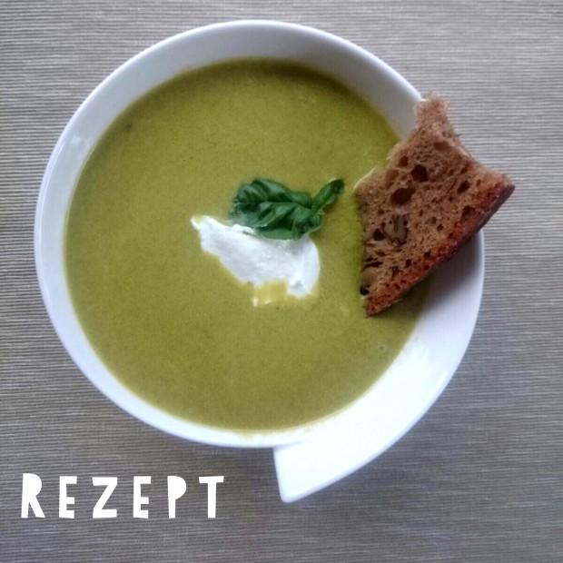 Suppe aus Radieschengrün