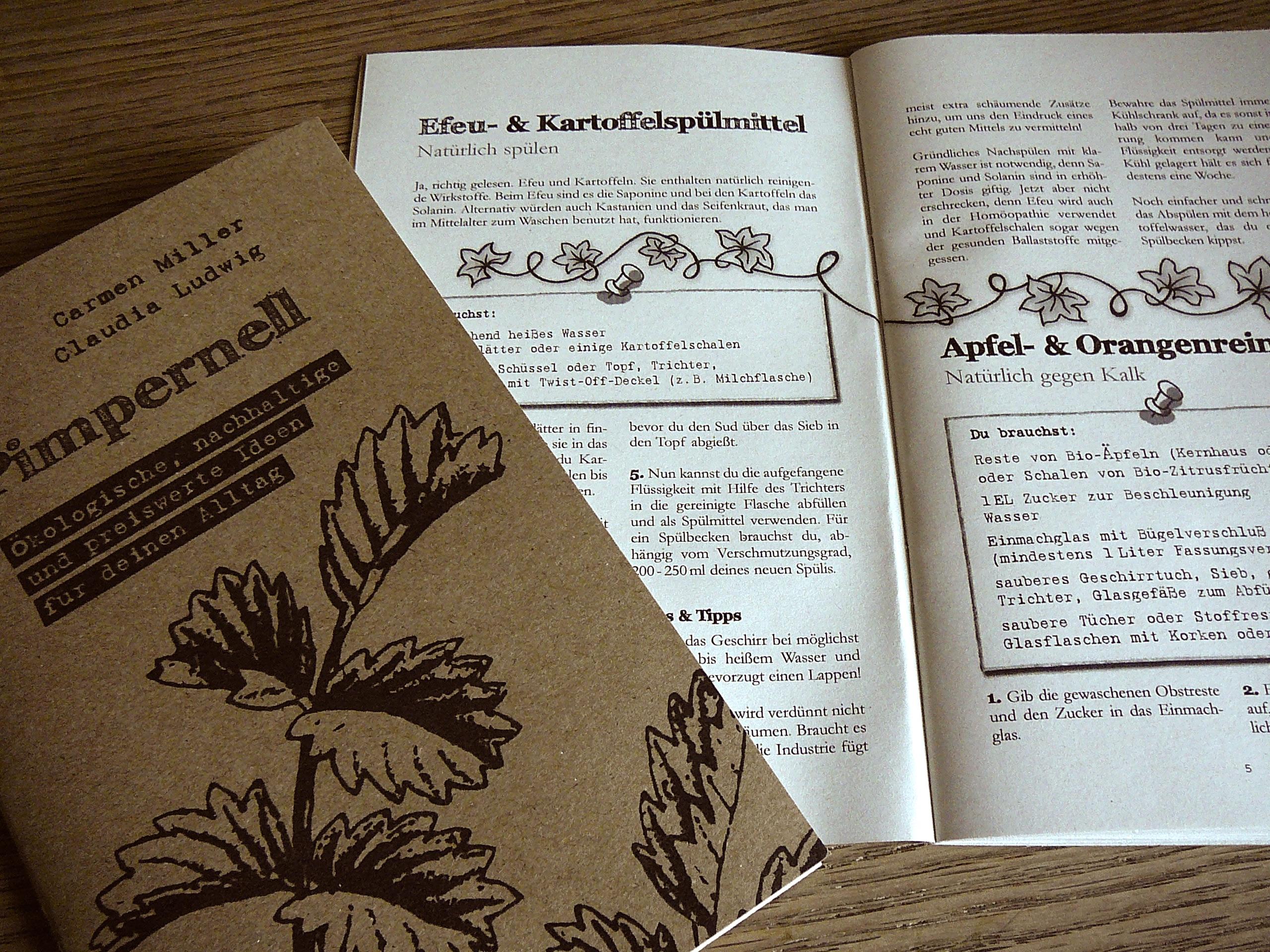 Pimpernell, der ökologische und nachhaltige DIY Alltagsratgeber ...