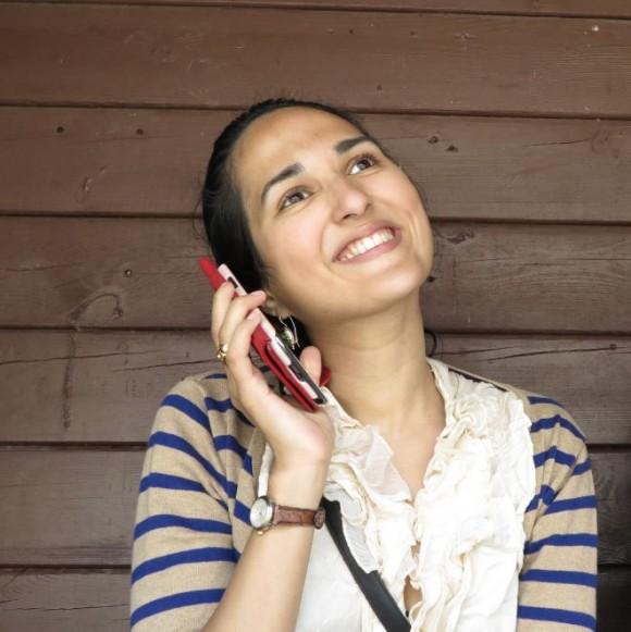Santa am Telefon