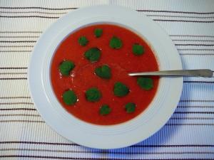Tomaten Oregano suppe